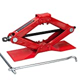 Torin Big Red Steel Scissor Jack, 1.5 Ton