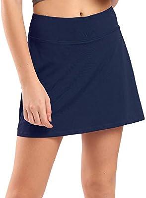 Ogeenier Deportivo Falda de Tenis para Mujer con Pantalones Cortos ...