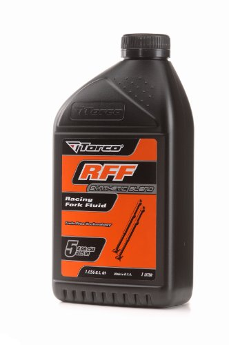 (Torco T830005CE RFF 5 Racing Fork Fluid Bottle - 1 Liter)