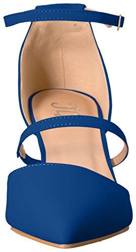 Brinley Co Women's Chelsy Pump, Beige Blue