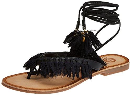 Gioseppo Vrouwen 44767 Peeptoe Sandalen Zwart (black)