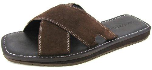Donald J Pliner Men's Dev Sandals, Brown, US 9