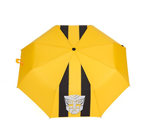 ADJOY9 Manual Cartoon 8-rib Pongee Cloth Windproof 3-Fold Kids Mini Rain Umbrella - Big Hornet