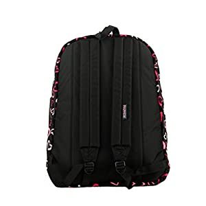 JANSPORT HIGH STAKES PINK TULIP LOTS OF L TRS7ZR8 BACKPACK