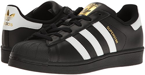 Sneakers Basses W Black Superstar white Adidas Gold metallic Femme WwzfnAxO