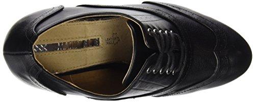para Cordones Negro Mujer Negro 61321 Bombeado Oxford Zapatos MTNG de Originals wIgqnFY