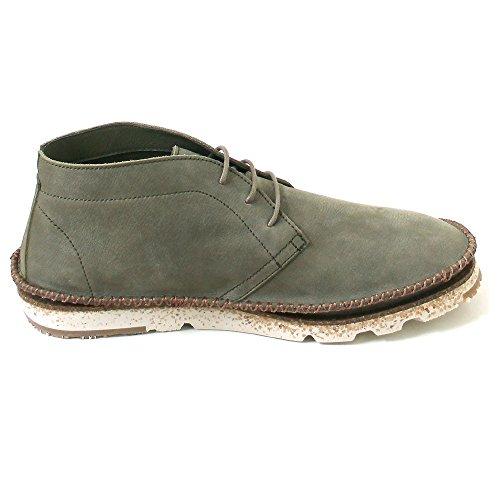El Naturalista - Zapatos de cordones de Piel para hombre verde Verde (Kaki) 025