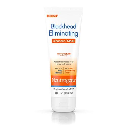 Neutrogena Blackhead Eliminating Cleanser/Mask, 4 Fluid Ounc