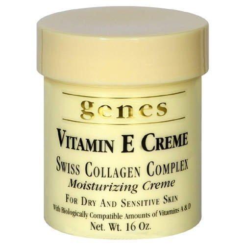 Genes Vitamin E Creme, 16 oz, 4 Pack