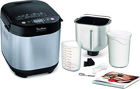 Moulinex Pain & Délices OW240E30 - Panificadora 1 kg, función yogur, pan sin gluten, pan casero, 20 programas automáticos, temporizador de 15 h, función mantenimiento de 1 h, libro de recetas incluido: Amazon.es: Hogar