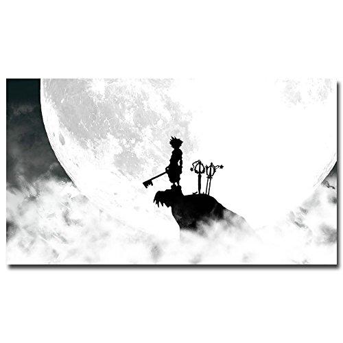 Lawrence Painting Kingdom Kingdom Lawrence Heartsゲームアートキャンバスポスター印刷ホーム壁装飾Kairi Sora 21 Painting B01EFI2GU4, 家具館:c5d551e3 --- samudradata.com