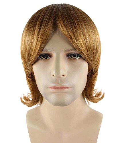 Brown 70's Shag Wig - 4