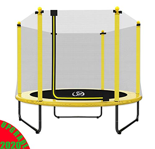 """LANGXUN Christmas Gifts for Kids - 60"""" Trampoline for Kids - 5ft Outdoor & Indoor Trampoline 
