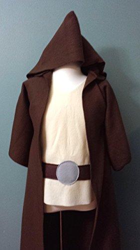 (Baby Star Wars Jedi Robe Costume Set (Luke Skywalker/Obi Wan Kenobi/Jedi Knight/Jedi Master) - Baby/Toddler/Kids/Teen/Adult)