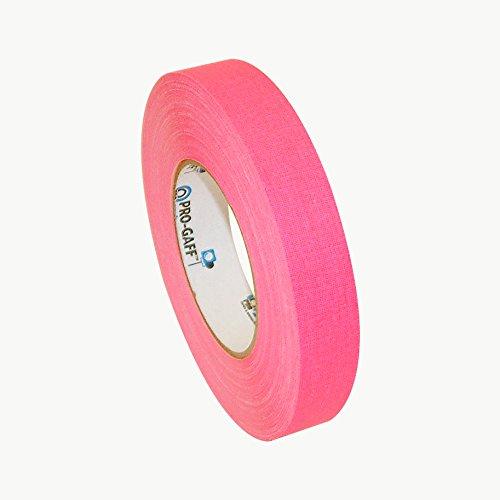 Pro Tapes PRO-GAFF-NEON/FLPI150 Pro-Gaff-Neon Premium Fluorescent Gaffers Tape: 1
