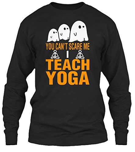 teespring You Cant Scare. 2XL - Black Long Sleeve Tshirt - Gildan 6.1oz Long Sleeve Tee T Shirt for Men & Women -