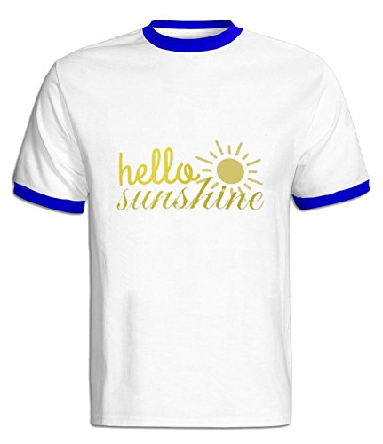 Fatal Decision Men's Hello Sunshine Art Tshirts blue