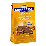 Ghirardelli Milk & Caramel Filled Squares Bag, 5.32 Ounce