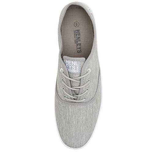 KRMSL373 Men's Foundation Canvas Grey Milo Quiksilver Shoes p87qwwf