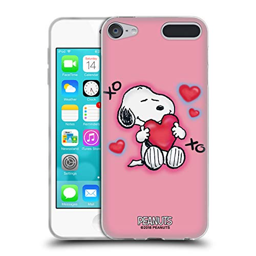 (Official Peanuts XOXO Snoopy Boardwalk Airbrush Soft Gel Case for Apple iPod Touch 6G 6th Gen)