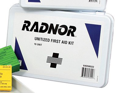 Unitized Box - Person Unitized First Aid Kit In Plastic Case