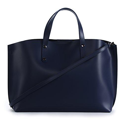 MY BAG Modèle cuir Main CHANTILLY Sac Bleu à glacé Moyen femme en OH ZdwqgZ