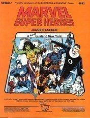 Marvel Super Heroes Judge's Screen: A Hero's Guide to New York (MHAC1) - Marvel Super Heroes Guide
