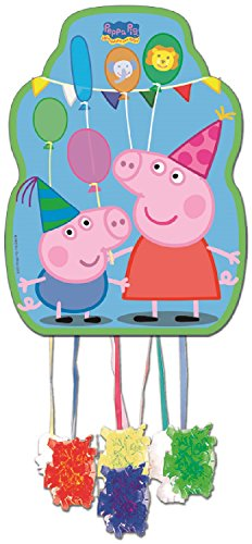 Girls Boys Kids Party Pinata Official Licenced Peppa Pig Party Wear Party Accessories Fancy Dress Acessory (Peppa Pig)
