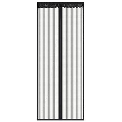 """Magnetic Screen Door with Mesh Curtain keeps air in and keeps Bugs & Mosquitoes Out.Toddler And Pet Friendly. Fits Door Openings up to 34""""x82"""""""