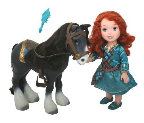 Brave Disney Princess (My First Disney Princess Brave Merida with Angus Playset)