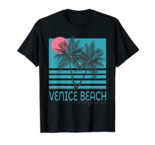 Venice Beach California T Shirt Vintage Souvenirs (Venice Beach Girl)