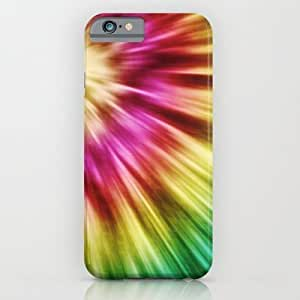 Abstract Green Tie Dye Case For Ipod Touch 4 Cover Case by Phil Perkins