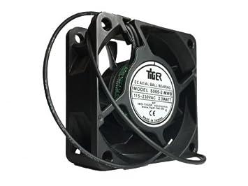 Ventilador, 60 x 60 x 25 mm ventilador AC, EC accionamiento ...