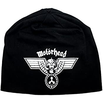 086e1887ae8 Motorhead Hammered War Pig Band Logo Metal Rock Music Skull Cap Beanie Hat