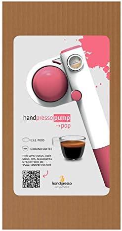 Handpresso Pump Pop de color rosa - Handpresso: Amazon.es: Hogar