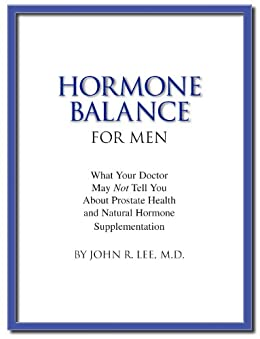 Hormone Balance Men prostate supplementation ebook