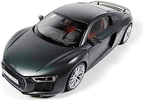 OPO 10 - 1/18 KYOSHO Car Compatible con Audi Sport R8 V10 Plus Coupé - 1:18 Green Camouflage (036008)