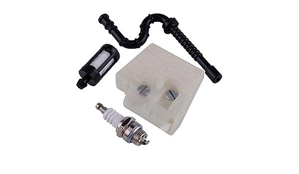 HURI Air Filter Service kit for STIHL 024 026 MS240 MS260 Fuel ...
