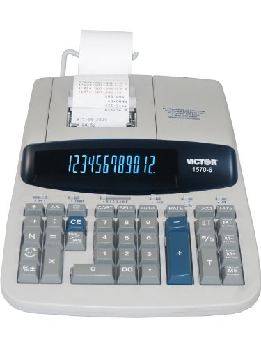 VCT15706 - Victor 1570-6 Two-Color Ribbon Printing Calculator