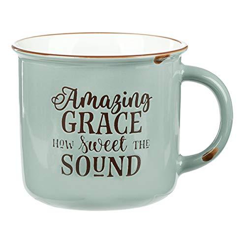 Grace Coffee (Amazing Grace Green Camp Style Coffee Mug)