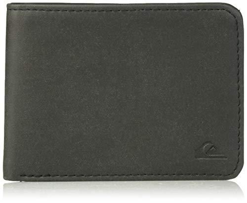 (Quiksilver Men's Slim Vintage II Wallet, black, M)