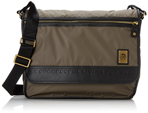 Diesel Men's On The Road Trip New Voyage Crossbody Bag, Bungee Cord, One Size