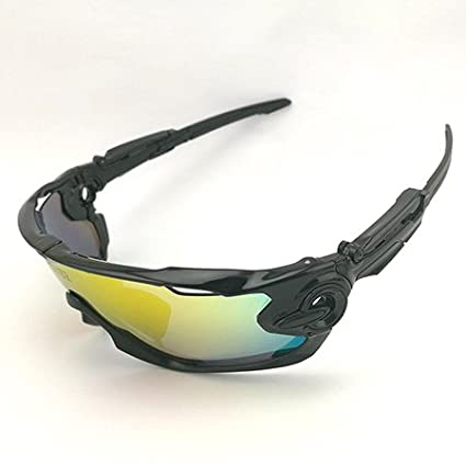 ec0a31f9c507 2, Other, Multi : 2017 Ftiier Multi lens Cycling Glasses Polarized Riding  Bicycle Sunglasses Goggles Driving Eyewear Outdoor Sports Sunglasses:  Amazon.in: ...