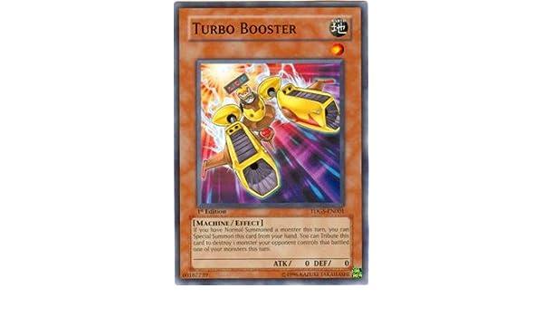 YuGiOh The Duelist Genesis Single Card Turbo Booster TDGS-EN001 Common [Toy]: Amazon.es: Juguetes y juegos