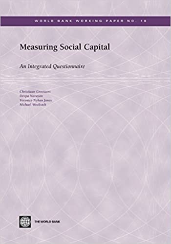 amazon measuring social capital an integrated questionnaire
