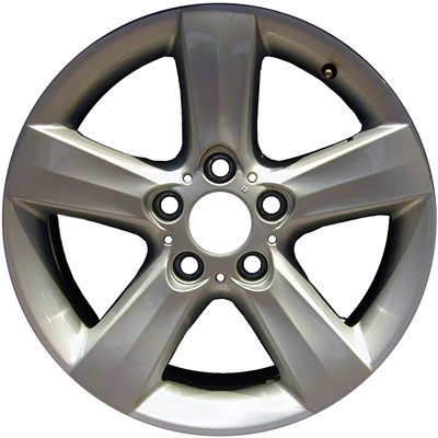 MAPM - FOR ALLOY WHEEL; 17 X 8; 5 SPOKES; 5 LUG; 120MM BP; ALL PAINTED SILVER - ALY59430U20