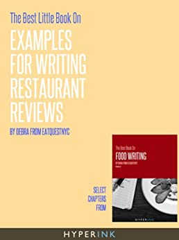 writing restaurant reviews This week, one of our writing classes wrote reviews on restaurants they have  been to in the san francisco bay area take a look at their.