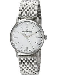 Women's 'Eliros' Quartz Stainless Steel Casual Watch, Color:Silver-Toned (Model: EL1094-SS002-110-1)