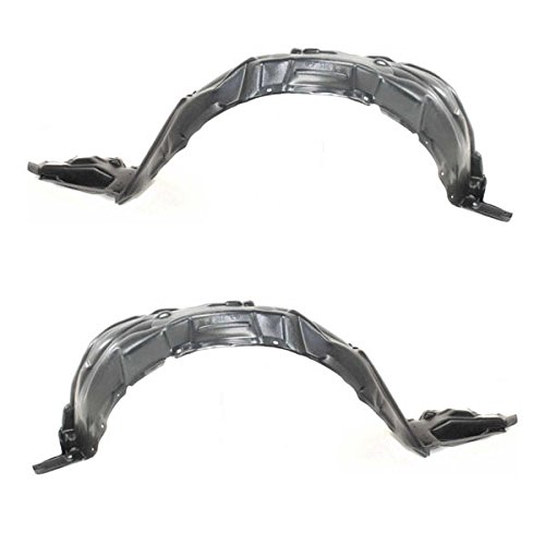 t Splash Shield Inner Fender Liner Panel Left Right SET PAIR ()