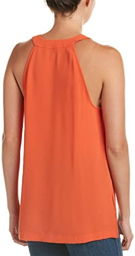 BCBGMAXAZRIA Womens Lana Lace Front Woven Sportswear Tank